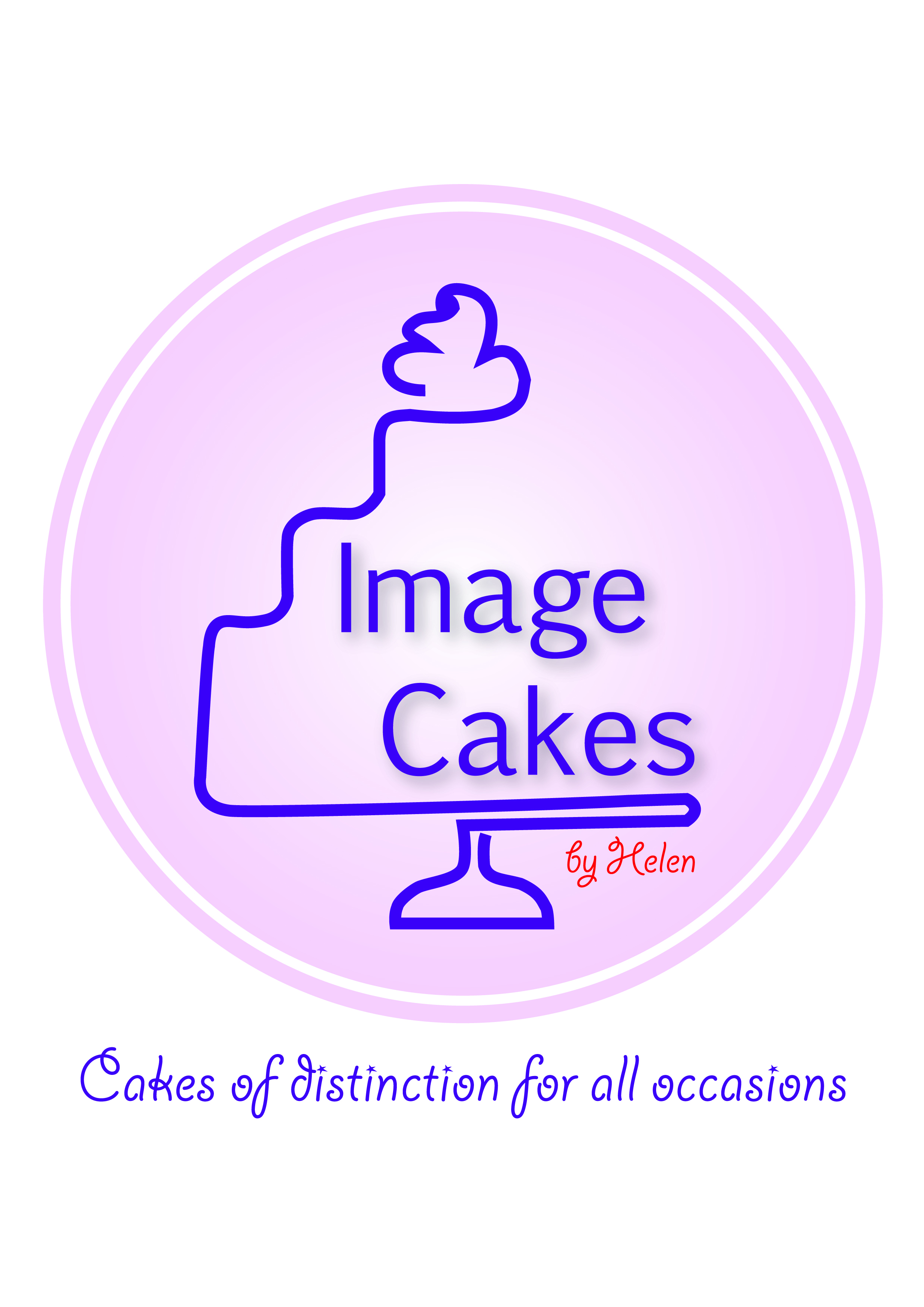 Image Cakes logo with slogan (hi-res)